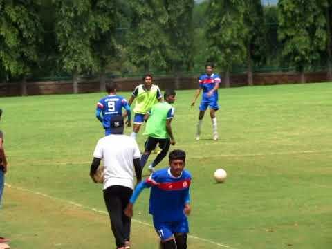 Jain University football team Semi finals of College football league