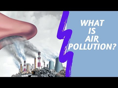 Introduction To Air Pollution | Outdoor & Indoor Air Pollution | LetsTute