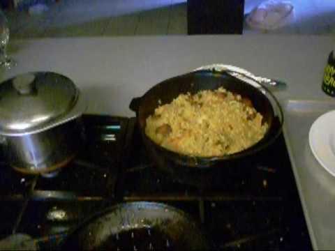 Chicken jambalaya with smoked sausage