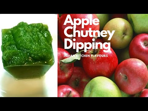 Apple Chutney | Apple Chutney Recipe | apple Chutney in 5 mins | Spicy Apple Chutney