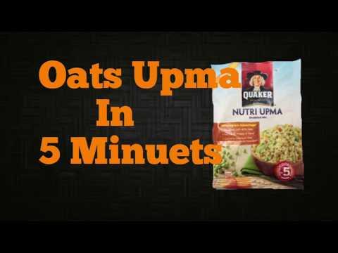 Oats Upma!!!!Upma In 5 Minuets!!