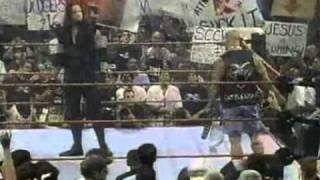 Stone Cold Steve Austin apologizes to Undertaker his way RAW 7/27/1998