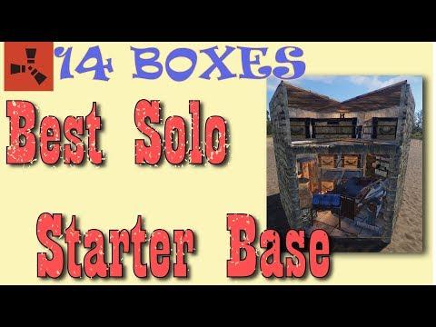 Full Triangle Best Solo Base Design I Rust Build 3.2