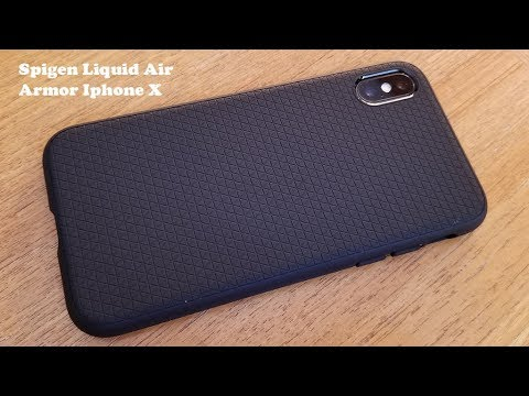 Spigen Liquid Air Armor Iphone X Case Review - Fliptroniks.com