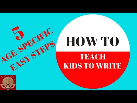 My kid can't write/ WRITING SKILLS/ HOW TO TEACH A CHILD HANDWRITING