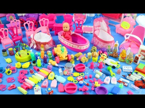 150+ Miniature Doll Stuff Collection #0-  Handmade Miniatures and Baby Doll Accessories