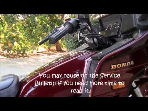 GL1200 Carb kit (Honda Service Bulletin)