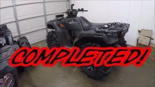 Catvos Honda Rubicon/ Rancher update