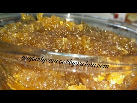 Recipe Grated Amla Murabba: How To Make Amla Murabba.