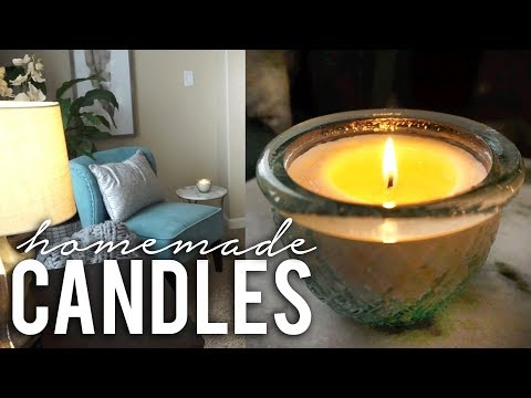 How to Make Scented Soy Candles At Home!