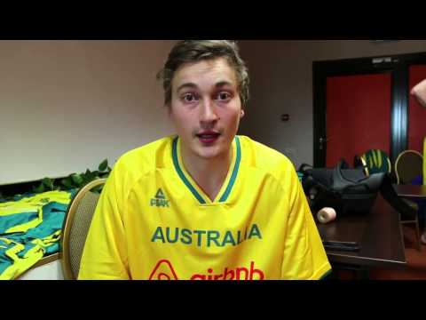 Game Reax - Ryan Broekhoff & Brock Motum (Boomers vs. Ukraine) #GoBoomers