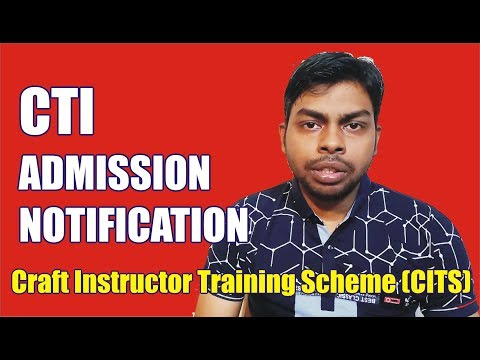 Announcement of CTI Admission for CITS    DGET