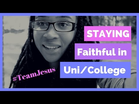 Tips on Keeping Your Faith at University/College!!