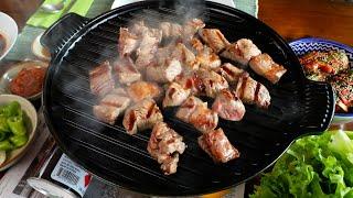 Корейская говядина на гриле (сокоги-гуи: 쇠고기구이)