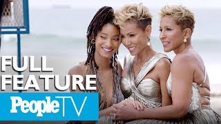 Download Jada Pinkett Smith, Willow Smith & Adrienne Banfield Norris On Show 'Red Table Talk' | PeopleTV Video