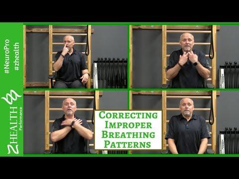 Correcting Improper Breathing Patterns