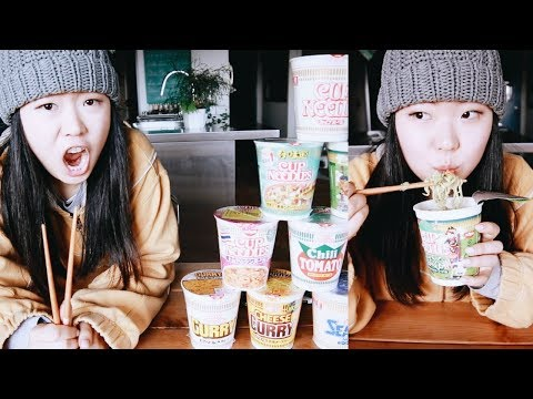 Japanese Cup Noodles Ramen. 😱🍜
