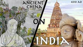 Ancient Chinese Monk Describes Ancient India // 4th century Faxian // Primary Source