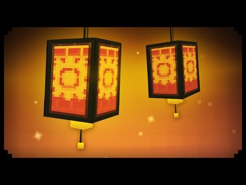 ✔ Minecraft: How to make a Working Paper Lantern