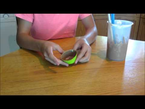 How To Make Chocolate Cups To Serve IceCream