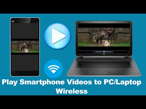How to Play Smart Phone Videos to Your PC Or Laptop Wireless (Tips and Tricks)