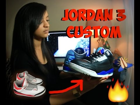 HOW TO PAINT CUSTOM JORDANS WITH ANGELUS PRODUCTS: