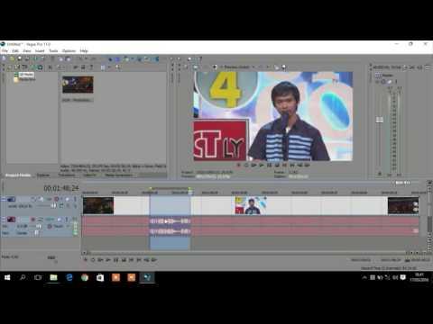Cara Edit Video dengan Teknik Cut Menggunakan Sony Vegas Pro 11