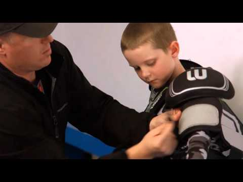 How to fit Hockey Shoulder Pads  by WINNWELL HOCKEY