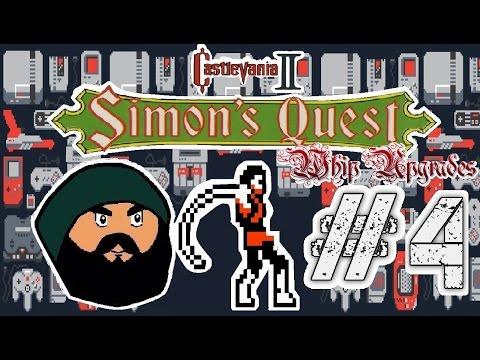 Castlevania 2 - Simon's Quest Redaction Part 4 FLAME WHIP!!!