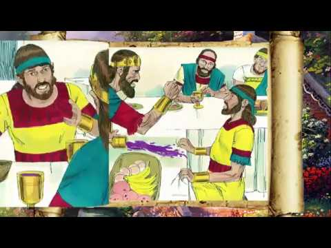 Bible Stories For Kids! Jonathan And David Promise Friendship