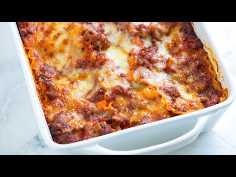 Crave-Worthy Sausage and Beef Lasagna Recipe