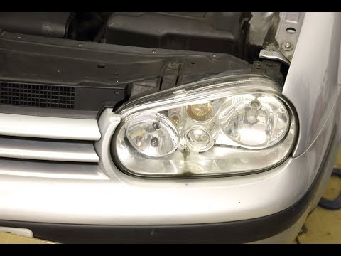 VW Golf/Jetta/Bora Sidelight Bulb replacement - How to fit new W5W bulb