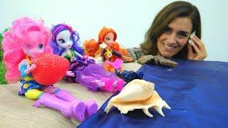 #MyLittlePony EQUESTRIA GIRLS gehen ans Meer 🌊 Zeichentrickfilm auf Deutsch My Little Pony Video
