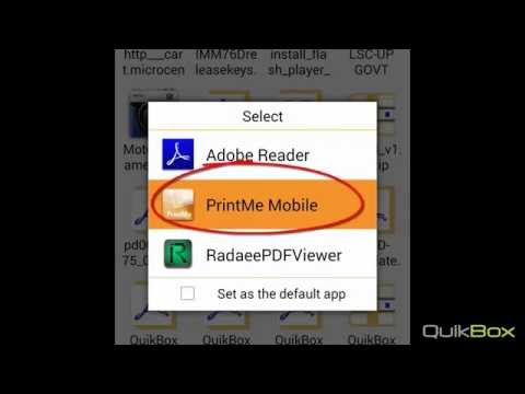 Mobile Printing - Secure Print from your Android device to your network printers Part I