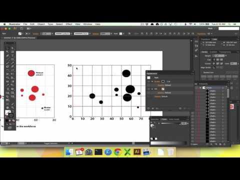 Making Bubble Charts (Circle Scatterplots) using Illustrator