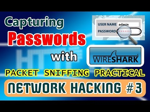 [HINDI] Capturing Passwords With Wireshark | Analyzing Packets | Packet Sniffing Practical