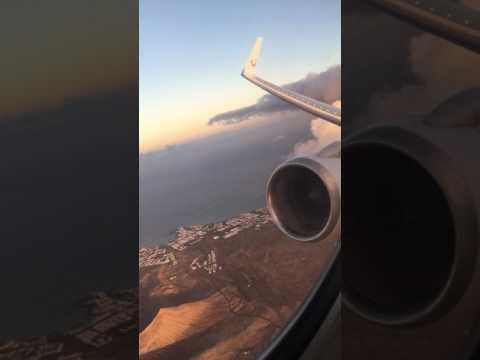 Thomson B757 take off Lanzarote