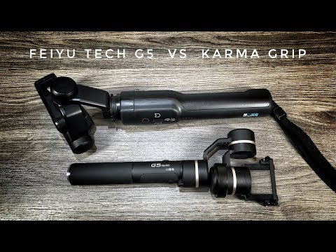 FeiyuTech G5 vs Karma Grip | Which Do I Prefer