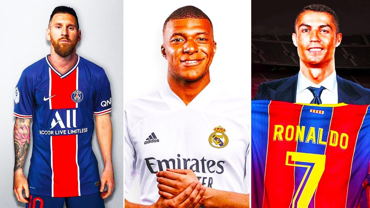 THE BIGGEST TRANSFERS of THE SUMMER 2021! MESSI, RONALDO, MBAPPE, HAALAND | BARCELONA, REAL, PSG