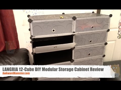 LANGRIA 12 Cube DIY Modular Storage Cabinet Review