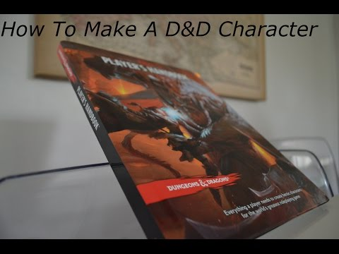 How to make a dungeons and dragons 5th edition character sheet
