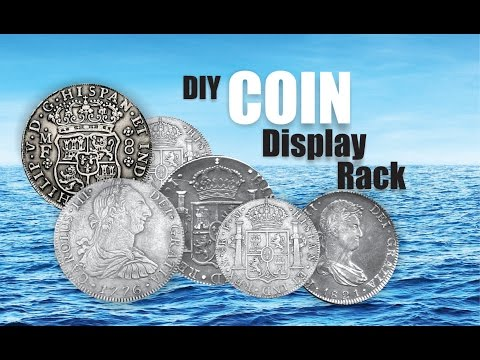 DIY Coin Collecting Display Rack