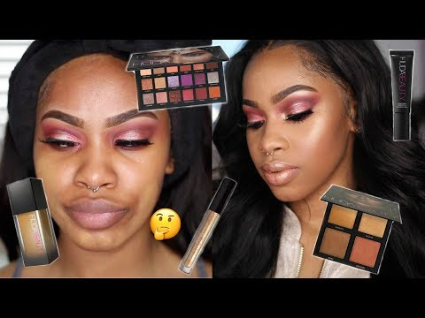 ONE BRAND TUTORIAL: HUDA BEAUTY | WOC FRIENDLY?? WORTH THE $$?