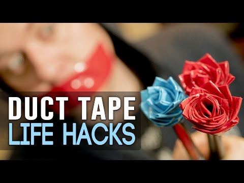 Simple Duct Tape Life Hacks