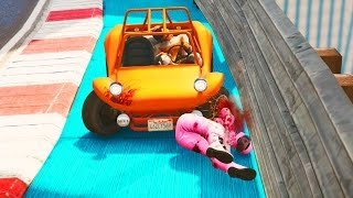 Insane Road Rage and Crashes! - Tiny Racers GTA V Online - Grand Theft Auto 5 Tiny Racers Gameplay