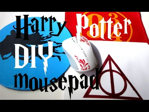 DIY Harry Potter mousepad tutorial - dementor