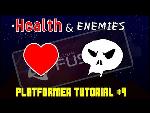 Platformer Tutorial #4: Enemies and Health