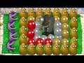 Plants vs Zombies : Chomper vs Gargantuar vs All Wall Nut