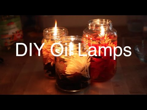 EASY DIY Oil Lamps || Pretty AF || SYDNEY MILAN
