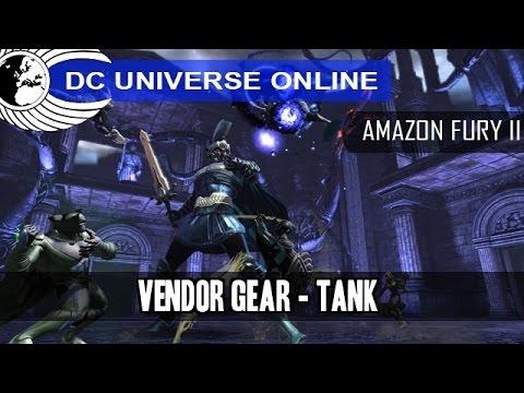 DCUO - PC Test - Amazon Fury Part 2 - Vendor Gear - Tank